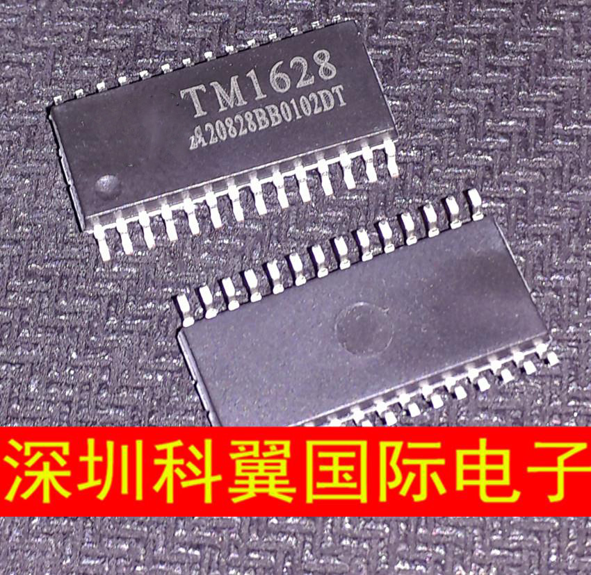 Integrated Circuits Amicable Free Shipping 10pcs/lot Tm1628 Sm1628 Ht1628 Cooker Sop28 Smd P Led Driver P New Original Active Components