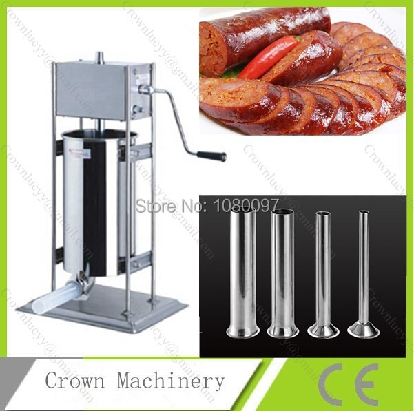10L Stainless steel hand sausage filler