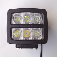 1 pc LED860W 5.4inch 60w square spot flood LED work lamp for Off Road vehicles ATVs Fork lift trains Lantsun