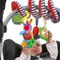 2016 Infantil Brinquedos de Pelúcia Do Bebê Modelo Animal Coelho Dos Desenhos Animados Suave Mordedor Handbells Educacionais Pendurado Brinquedos Musicais Preço Barato