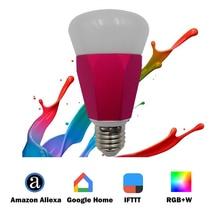 E27 7W Sensible IFTTT Mild Work With Alexa Echo Google Residence Help APP /Timing Voice Management RGBW