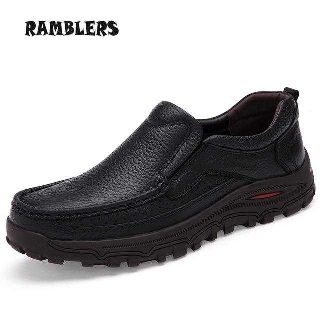 Plus Talla para Hombre Zapatos Planos de Cuero Negro Hombre de Negocios Suave zapatos Se Deslizan En los Holgazanes Hombres Zapatos Oxford Zapatos de Vestir Formales marrón