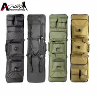 85cm 100cm 120cm Tactical Hunting Backpack Dual Rifle Square Carry Bag With Shoulder Strap Gun Protection