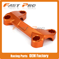 Orange Motorcycle CNC Aluminum Handlebar Risers Mount Top Cover Clamp Fit For KTM DUKE 390 200 125