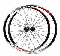 New HOT sale 2019 High Quality 700C Alloy V Brake Wheels Bmx Road Bicycle Wheel Aluminium Road Wheelset Bicycle Wheels parts