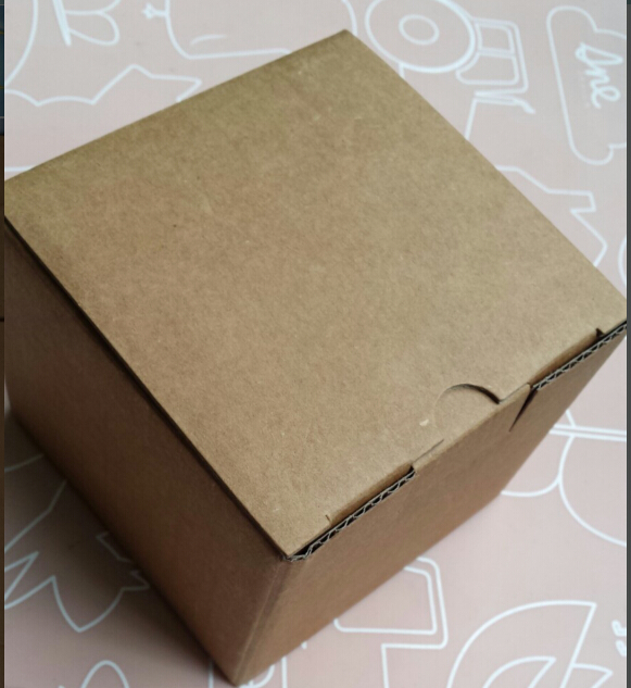 12-30 Alice, Wholesale 9*9*7.6cm Kraft paper Mailing box, 20pcs/lot Express transportation corrugated packing box
