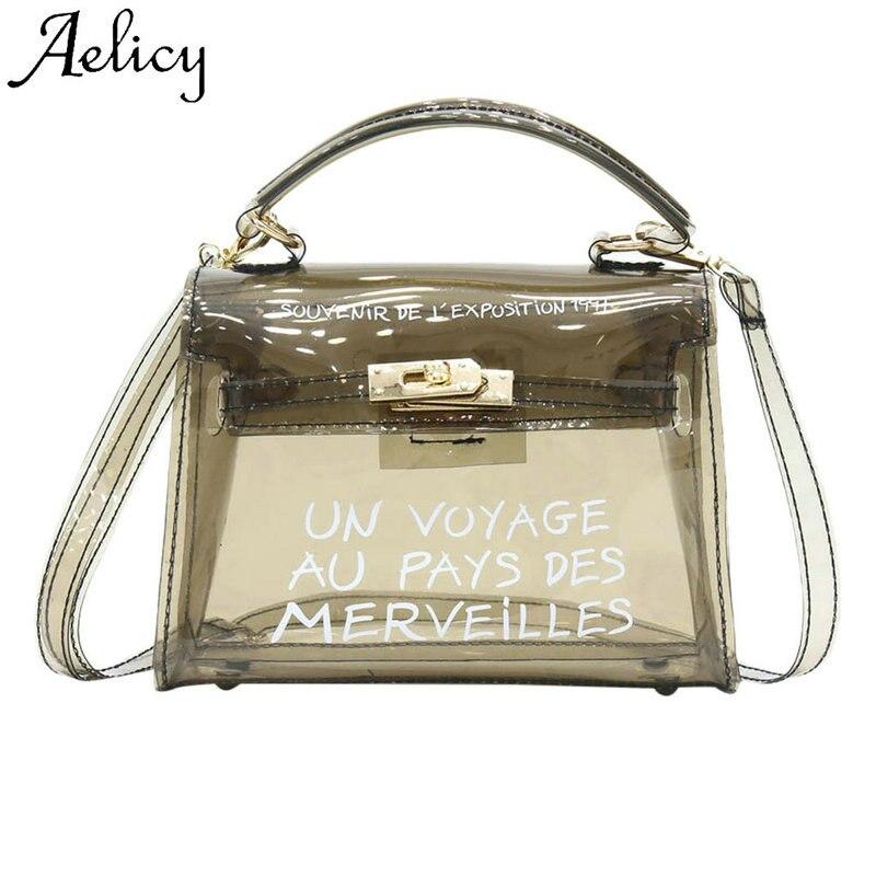 024f7e690812 Aelicy Женская мода сумочка на ремне желе сумка однотонная Сумка Высокое  качество Универсальный Портативный леди. 4.70 out of 5. US $5.42SaveEnlarge