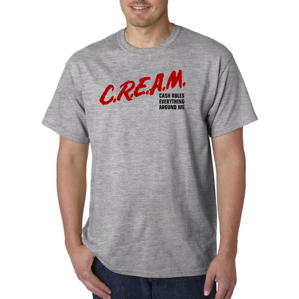 c5b23c11ab9 C.R.E.A.M. Dare Parody T Shirt Cash Rules Everything Around Me Hip Hop Rap  Tee T Shirt Men Black Short Sleeve Cotton Hip Hop-in T-Shirts from Men s  Clothing ...