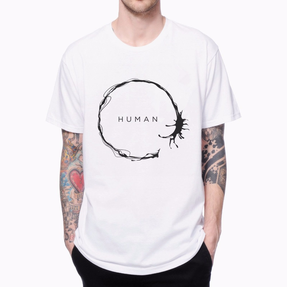 Human design t shirt - Human Arrival Geometric 1704185 Male Cool Tees 3d Design Print Short Sleeve Men S T Shirt
