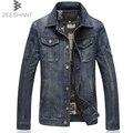 5XL 6XL 7XL Plus Size Jeans da moda Jaquetas Casuais Ao Ar Livre Casaco Jaqueta de Cowboy Chaquetas Hombre Jaqueta Jeans em homens jaquetas
