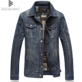 5XL 6XL 7XL Plus Size Outdoors Casual fashion Jeans Jackets Cowboy Jacket Coat Chaquetas Hombre Denim Jacket in Men's Jackets