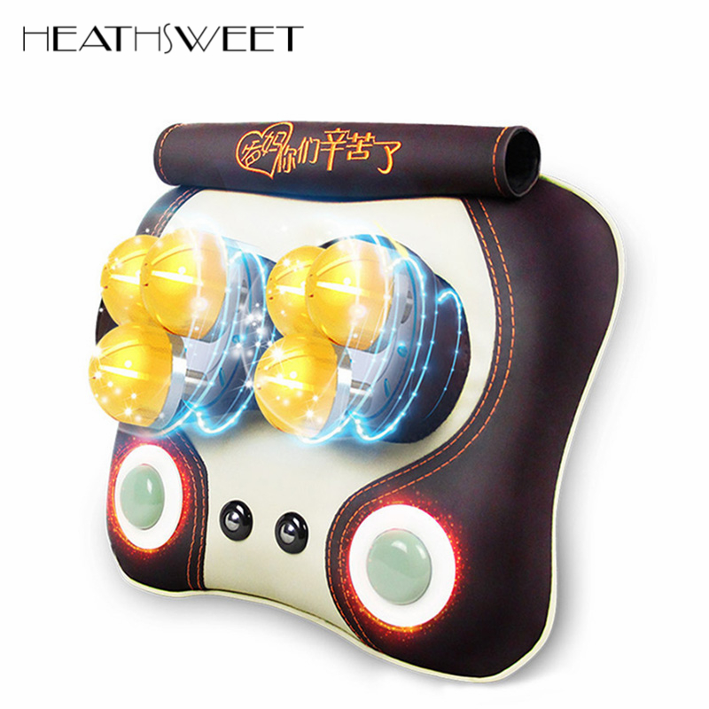 все цены на Healthsweet Multifunction Infrared Cervical Massage Device Electric Neck Shoulder Back Massage Pillow Full-body Massage Cushion онлайн