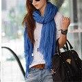 2016 Women Lady Spring Autumn Warm Soft solid Voile neck scarf Winter Autumn Women scarf Shawl Pashmina Scarf luxury brand shawl