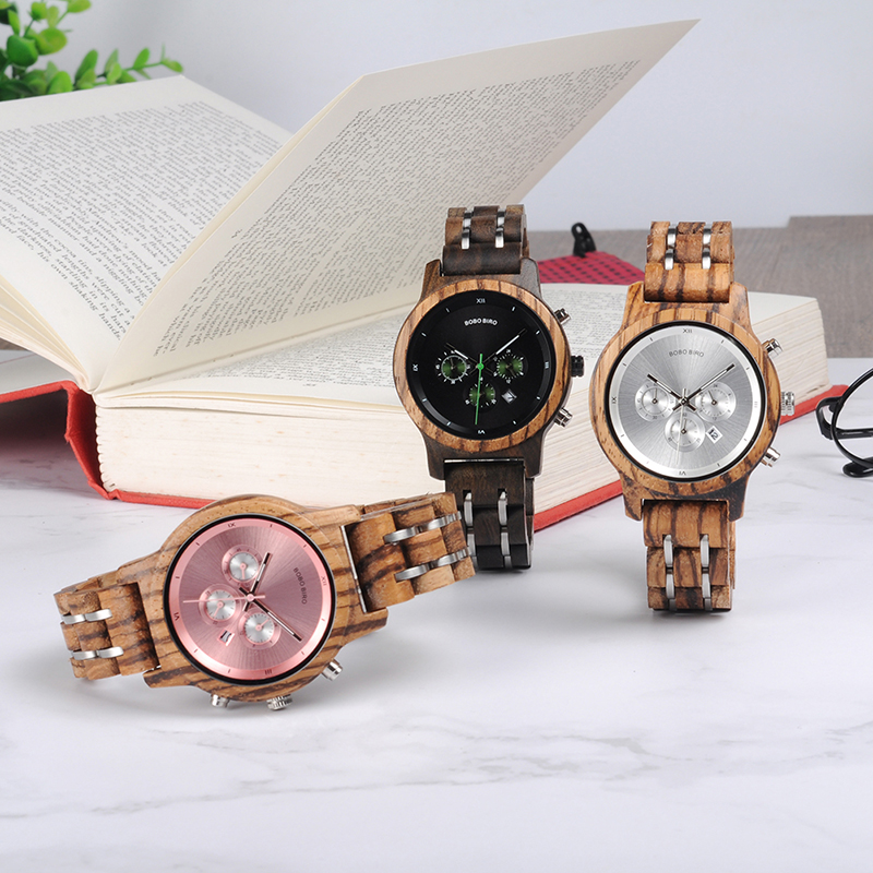 women bobo bird watches wood watches fashion (1)