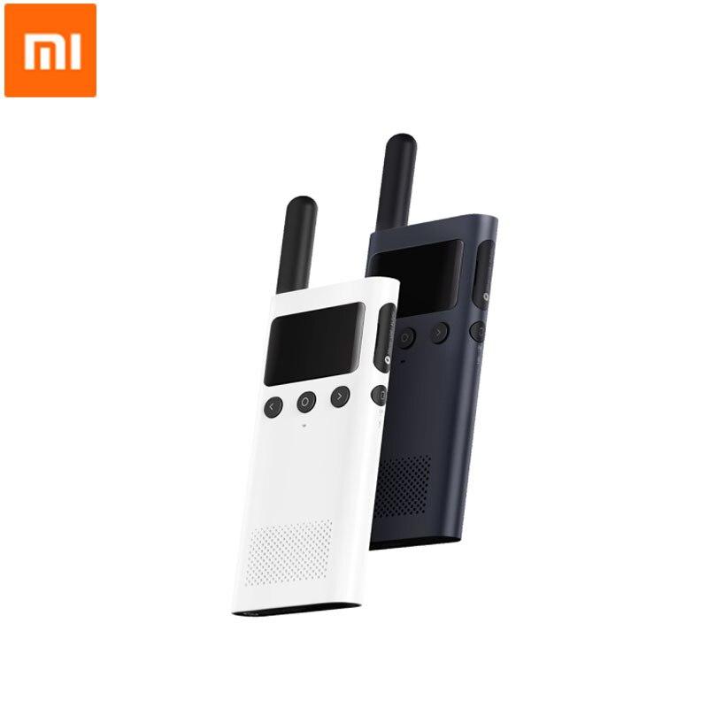 Xiaomi Norma Mijia Walkie Talkie 1 s 20 Canali 430 440 mhz Two Way Radio Smart Bluetooth Interphone Carica USB APP Posizione Condividere-in Telecomando smart da Elettronica di consumo su AliExpress - 11.11_Doppio 11Giorno dei single 1