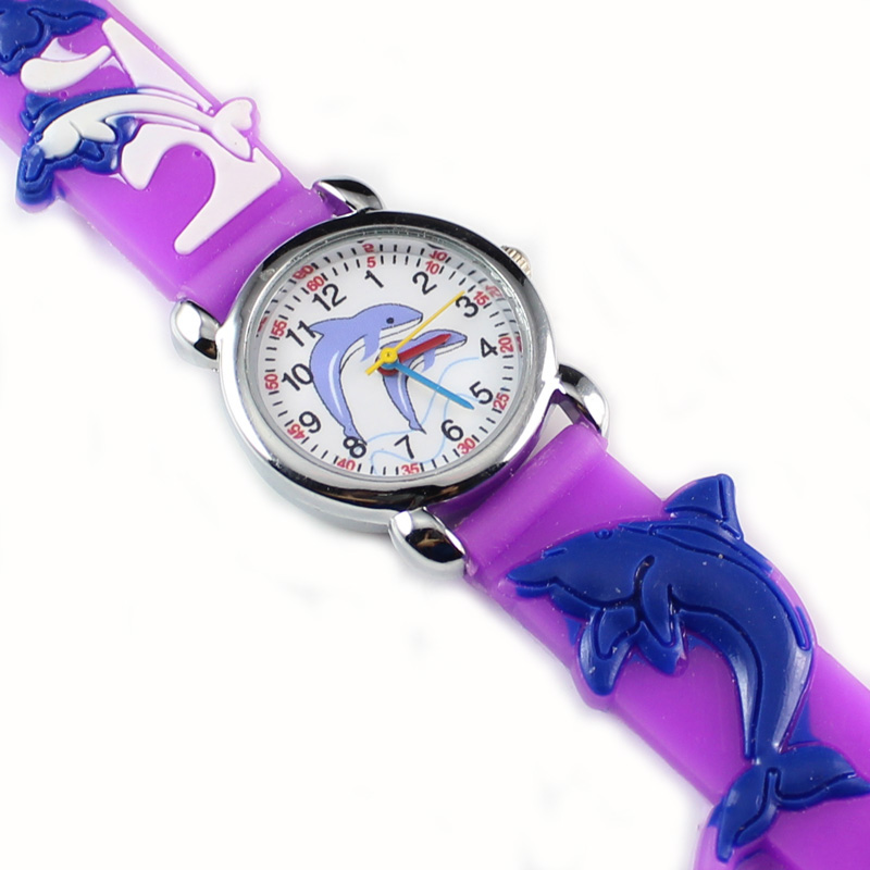New Fashion Kids Finding Nemo 3D Lovely Cartoon Watch For Childrens Gift (10 pieces)
