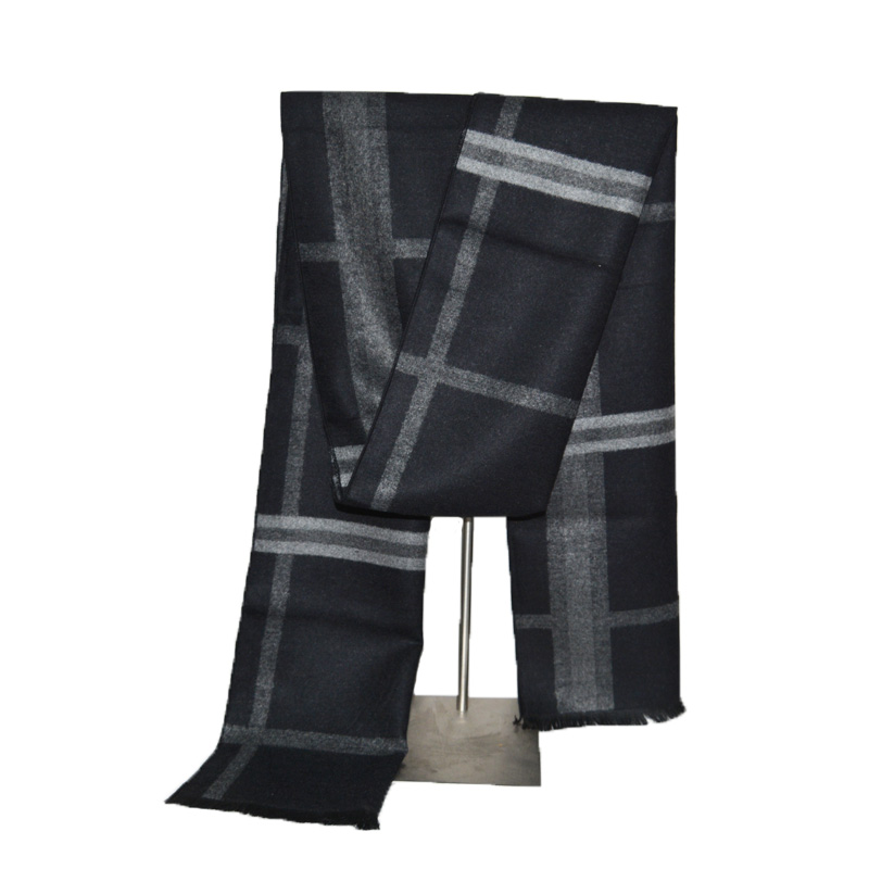 6cf37f65f1f26 Fashion design 2018 men women cashmere Scarf Luxury Brand high quality  Neckerchief Winter Warm Soft Shawls Wraps Unisex Scarves-in Men's Scarves  from ...