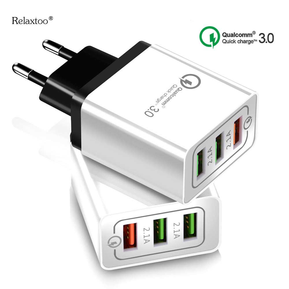 USB Charger quick charge 3.0 for iPhone x xs max Fast Wall C