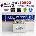Новый Дизайн Оригинальный iOBD МИНИ Bluetooth OBD2 Интерфейс Работает На Android и IOS Системы XTool iOBD2 МИНИ Лучше, Чем ELM327 быстрый Корабль