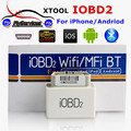 New Desgin Original iOBD MINI Bluetooth OBD2 Interface Work On Android&IOS System XTool iOBD2 MINI Better Than ELM327 Fast Ship