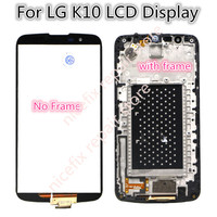 100% Tested 5.3'' Replacement Parts For LG K10 LTE K420N K430 K430DS LCD Display Touch Screen Digitizer Assembly with Frame