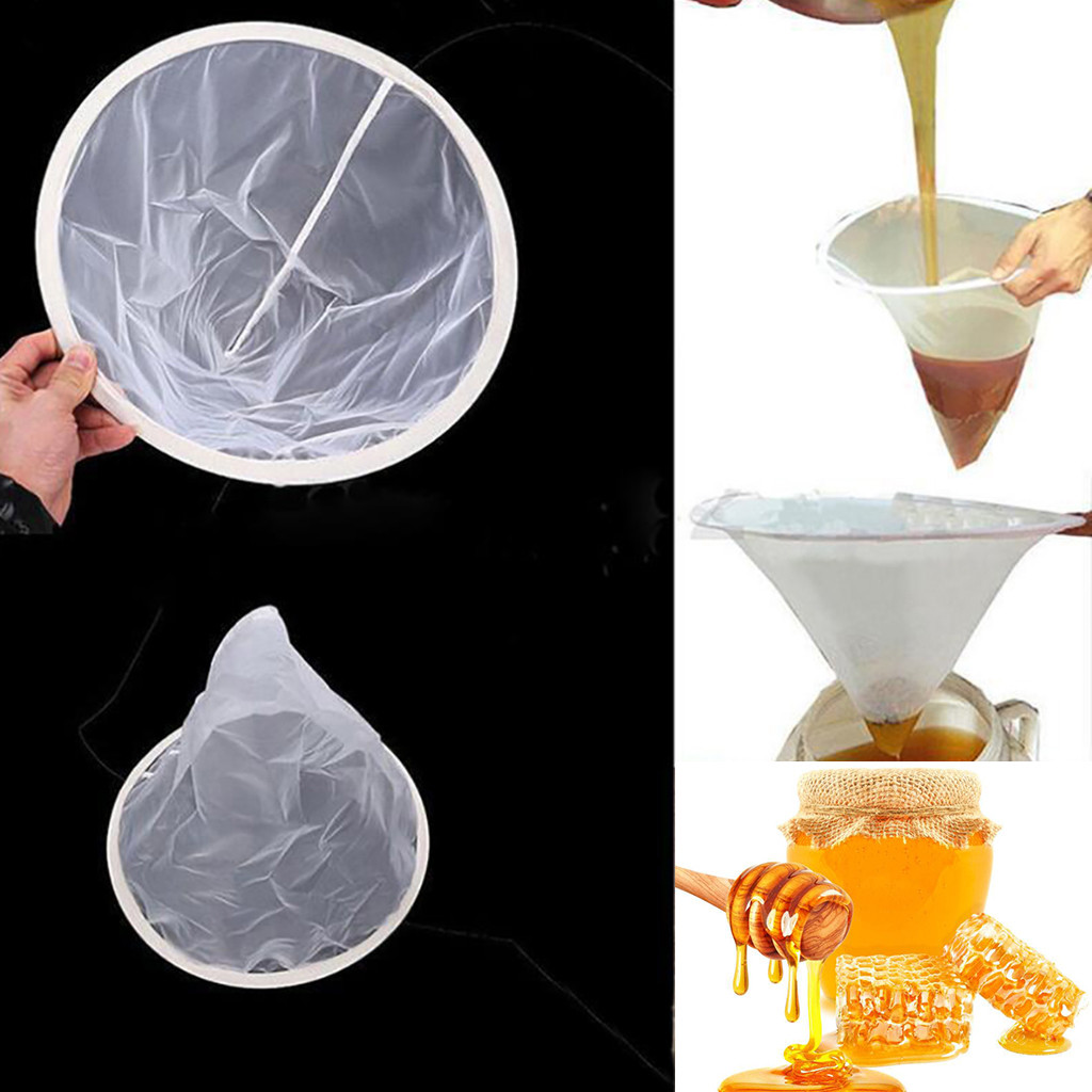 35x40cm Double-layer Honey Sieve Filtration Bee Honey Filter Strainer Machine Tool Extractor Beekeeping Tools#p9
