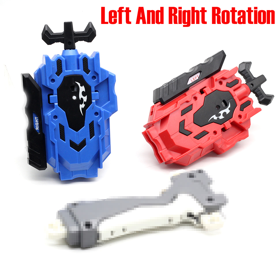 2019 Hot Children Toy Gyro Plastic Handle Kids Gyro Toy Power String Launcher Beyblade Metal Masters Fight Classic Toy #20