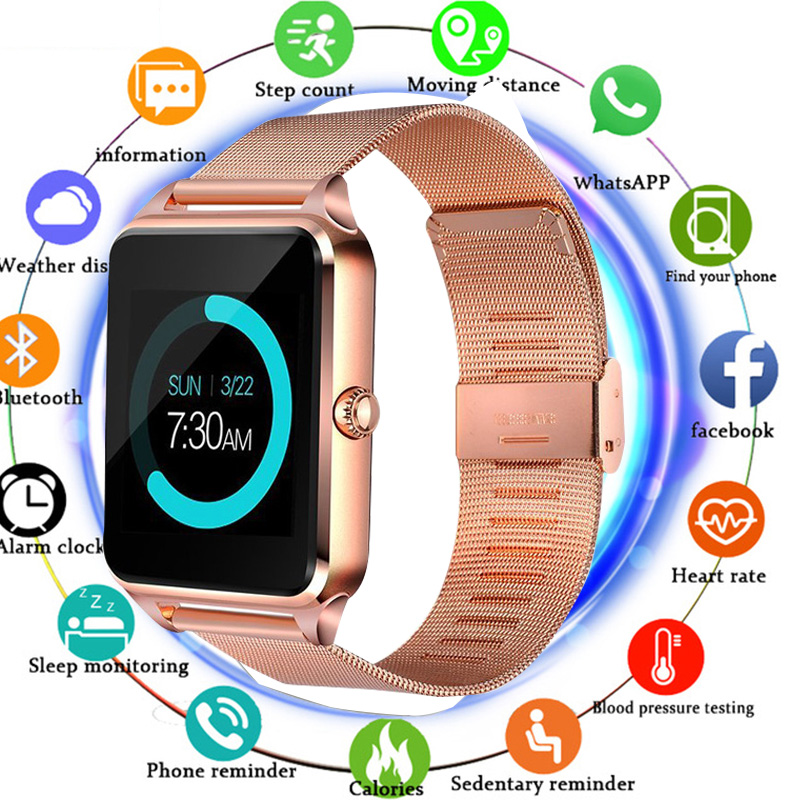 Smart Watch Z60 GT09 Men Women Bluetooth Wrist Smartwatch Support SIM/TF Card Wristwatch For Apple Android Phone PK DZ09Smart Watch Z60 GT09 Men Women Bluetooth Wrist Smartwatch Support SIM/TF Card Wristwatch For Apple Android Phone PK DZ09
