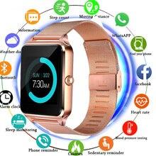 Smart Watch Z60 GT09 Men Women Bluetooth Wrist Smartwatch Support SIM/TF Card Wristwatch For Apple Android Phone PK DZ09 2019 smart watch gt08 z60 men women bluetooth wrist smartwatch support sim tf card wristwatch for apple android phone pk dz09