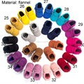 64Style Baby Soft PU Leather Tassel Moccasins walker shoes baby Toddler Solid Colour Tassel Shoes Moccasin E082