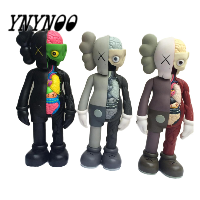 YNYNOO New Arrivals 37CM 16 inch KAWS Dissected Companion Action Figures Mlodel Toys for Children  Toys No box 2017 new arrival toy story 3 buzz lightyear toys lights voices speak english action figures 10 inch fb253