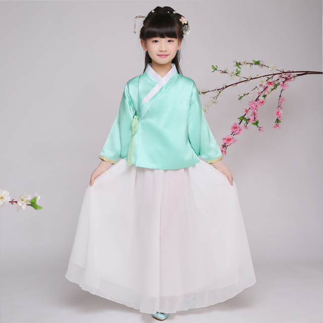 e0cf37c71e16 Children Chinese Traditional Costume Girl Princess Clothing Kids ...