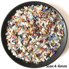 Прямая поставка, Смесь натуральных камней, цветной кристалл, кварц, минеральный образец, каменный чип, гравий, шероховатый сырой энергии, украшение