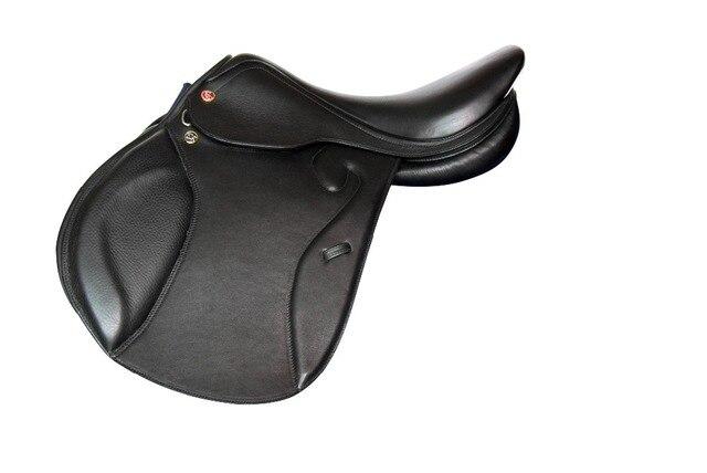 English Endurance Horseback Riding Saddle - Genuine Leather - Comfortable!  2