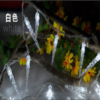 Luminaria 10M 80 LED Garland Christmas String Light Icicle Lamp For Christmas Tree Garland Wedding Party