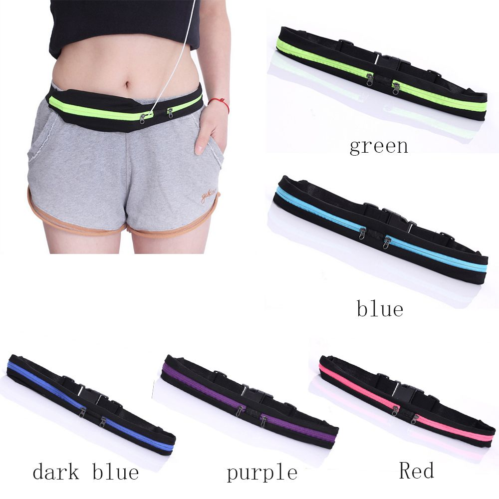 Hot Sale 1pc Unisex Waterproof Durable Outdoor Travel Waist Pack Useful Convenient Belly Fanny Jogging Running Bag Cycling Pouch