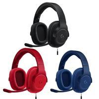 Logitech G433 PS4 Wired Fone De Ouvido X 7.1 Surround Gaming Headset para PC Xbox Fones de ouvido     -