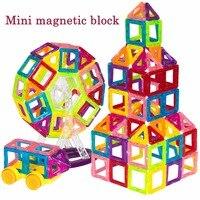 BD Mini Magnetic Designer Construction Set Enlighten Model Building Toy Magnet Blocks Educational Toys For Children
