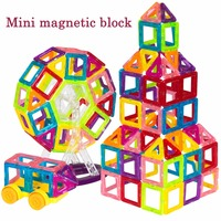 BD Mini Magnetic Designer Construction Set Enlighten Model Building Toy Magnet Blocks Educational Toys For Children