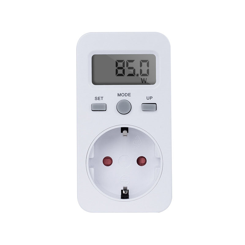 цена на High Quality SH-130 16A 230V US EU Plug Digital Plug in Power Monitor Energy Meter Socket with LCD