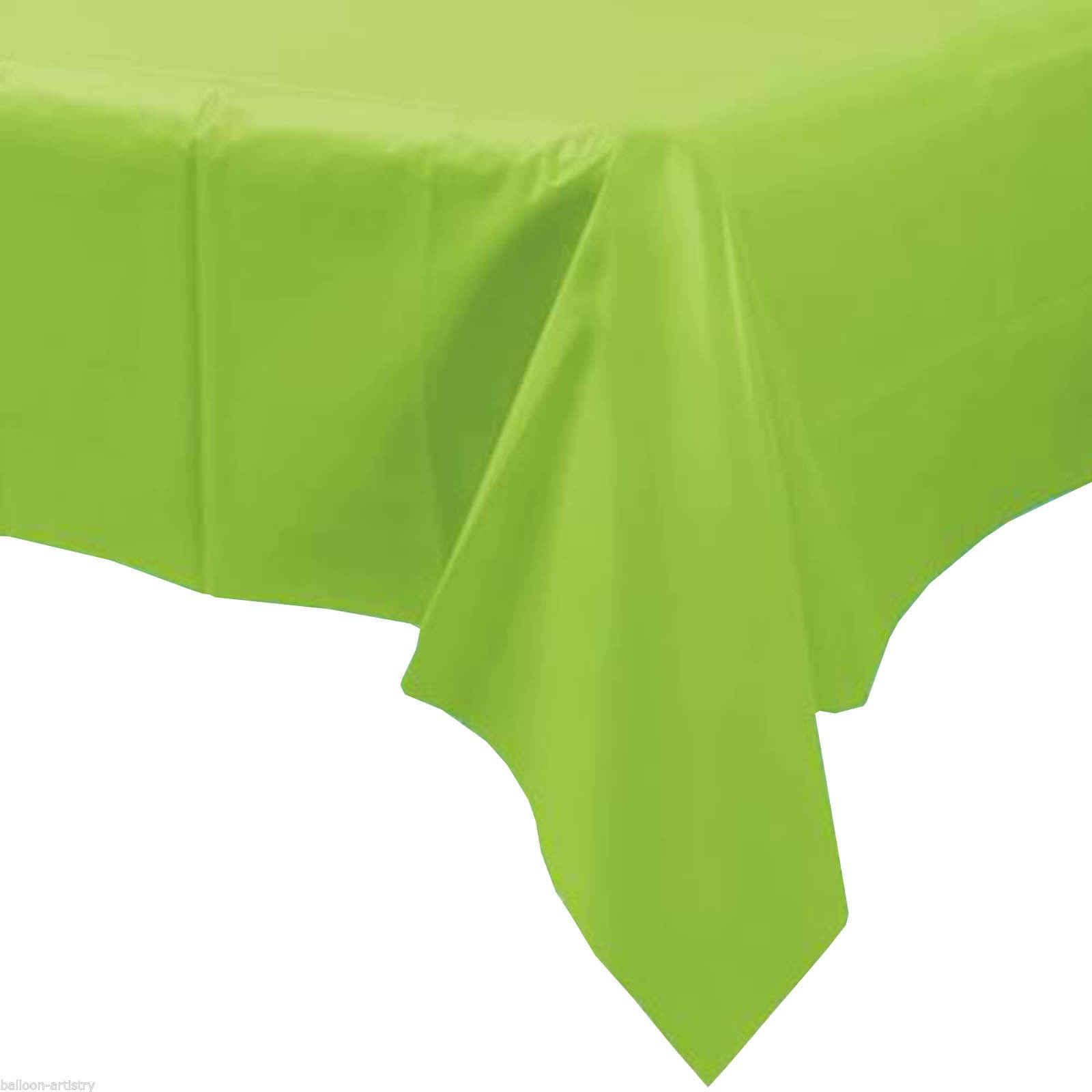 Warna-warni 137X274 Cm Sekali Pakai Taplak Meja Persegi Panjang Pesta Plastik Tahan Air Meja untuk Rumah Pernikahan Perlengkapan Pesta Ulang Tahun