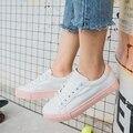 Бесплатная доставка 2017 весна новая мода женская обувь квартиры повседневная дышащий PU милые принцесса обувь женская повседневная обувь на платформе