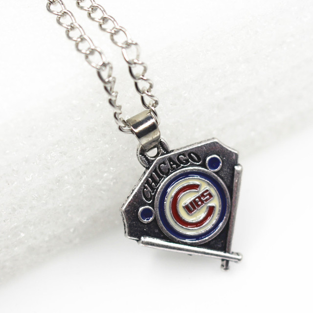 New arrival 20pcslot mlb chicago cubs sports baseball pendant diy new arrival 20pcslot mlb chicago cubs sports baseball pendant diy necklace jewelry with aloadofball Gallery