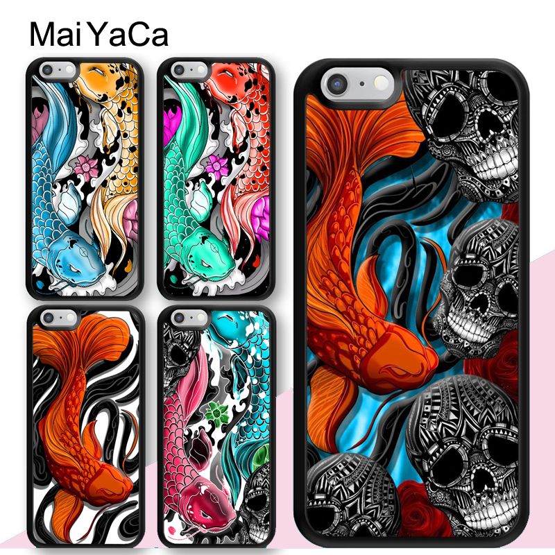 Cellphones & Telecommunications Maiyaca Koi Carp Fish Japanese Phone Case Cover For Iphone 4 5 5s Se 6 6s 7 8 X Xr Xs Max Samsung Galaxy S6 S7 Edge S8 S9 Plus