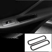 Двери автомобиля сбоку коробка для хранения рамки украшения крышка отделка наклейки Jaguar F-PACE f темп X761 2016 2017 2018 интимные аксессуары