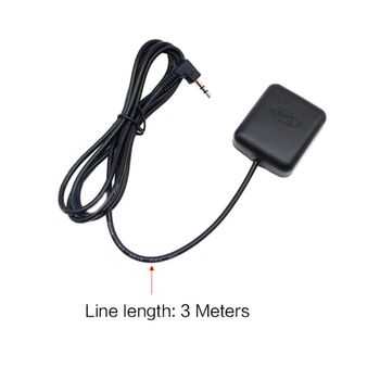 NEW Car DVR Recorder GPS Navigation Accessories External Antenna Module 3.5mm Plug image
