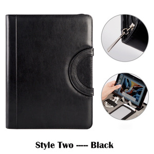 Image 4 - Binder A4 File Folder Document Organizer Manager Padfolio Case Business Office Cabinet Holder Zipper Briefcase Fathers Day Gift