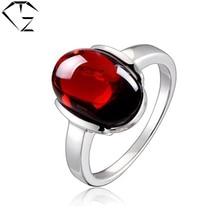 Nueva Multa S925 Thai Plata Sólido Rojo Rubí Piedra de Lujo Pura 100% anillo de Plata de Ley 925 Anillos para Las Mujeres Joyería LR02