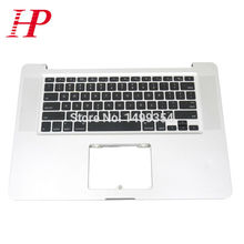 "Genuine A1286 Topcase Palm Rest With Keyboard For Apple Macbook Pro 15"" A1286 Top case Palmrest With US Keyboard 2009 Year"
