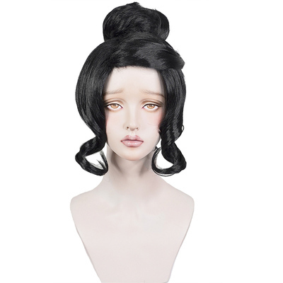 Anime Black Clover Charmy Pappitson Cosplay Wig Hitam Tahan Panas Sintetis Rambut Wig Aliexpress
